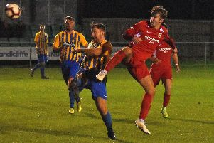 Zak Munton took his goal tally to 20 for the season with another brace at Birstall EMN-200122-084224002