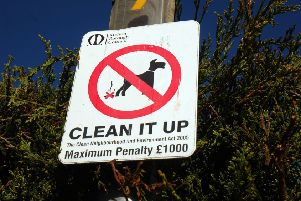 Melton dog fouling area EMN-200128-124704001
