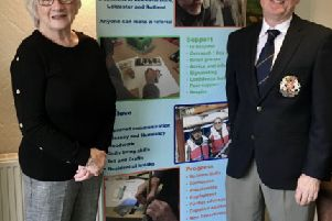 Melton Golf Club's captains, John Harvey and Jackie Fisher, announce they will back the Headway Leicestershire, Leicester and Rutland charity for the coming year EMN-200129-111302001