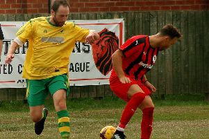Matt Hendey, here in Holwell colours last season, made it nine goals for the season at Asfordby with a midweek double EMN-200129-114705002