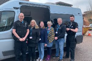 Members of Leicestershire Police's Mental Health Team, who operate 16 hours a day, but are currently undertaking a new 24/7 pilot scheme until March 2020 EMN-200602-160147001