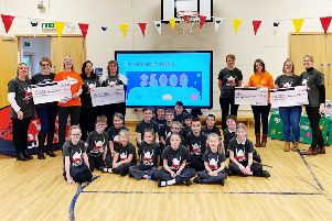 The beneficiaries of the 2019 Viking Challenge PHOTO: Supplied