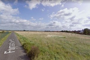 Furzenhall Road. Credit: Google Maps.  To comment, search  for application CB/19/04301/OUT on  CBC's website.