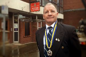Danny O'Brien, new chairman of the Melton branch of the Royal British Legion EMN-200221-095805001
