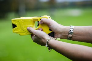 A Taser weapon used by police officers'PHOTO MartisMedia EMN-200224-111527001