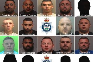 The drug dealing gang jailed for more than 100 years between them EMN-200227-114957001