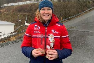 Amelia Coltman was our Sports Personality of the Year for 2019 EMN-191112-104146002