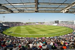 The Ageas Bowl hosts England against Pakistan
