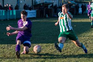 Chichester City in action against East Preston / Picture by Daniel Harker