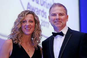 Sussex Food and Drink Awards banquet hosts Sally Gunnell OBE and Danny Pike
