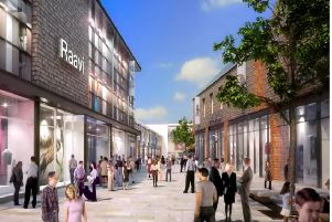 An artists impression of The Martlets redevelopment in Burgess Hill. Picture supplied by NewRiver
