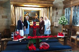 The Warwick Poppies 2018 project.