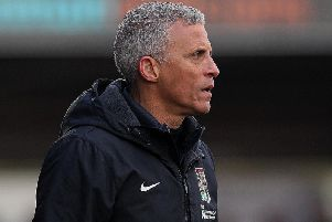 Keith Curle saw the positives in Saturday's drab goalless draw
