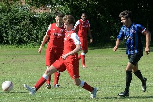 Bosham in action earlier in the season / Picture by Kate Shemilt