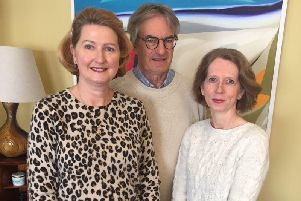 Sophie Hull, Mike Crouch and Helen Monckton