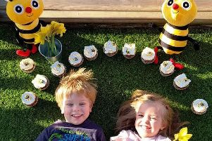 The team at Busy Bees Nursery in Warwick are celebrating their rating. Photo supplied.