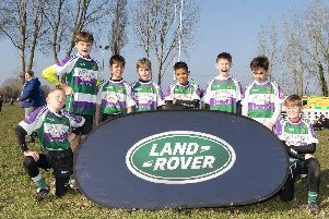 Bognor under-11s at the event
