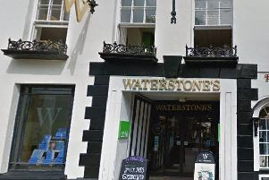 Waterstone's, West Street, Chichester. Google Street View