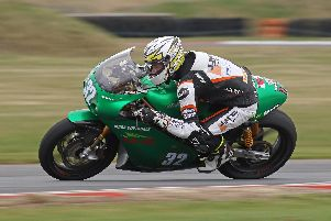 Carl Phillips will make his road racing debut at the North West 200 in May on the ILR/Coverdale Paton.