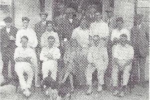 West Wittering's founding players in 1919