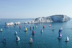 The popular Round the Island Race
