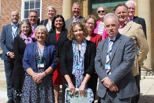 Members of the West Sussex Health and Wellbeing Board at the launch of the new strategy