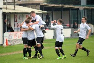 Pagham on the goal trail last season / Picture by Roger Smith