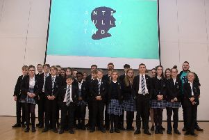 The new Anti-Bullying Ambassadors at Midhurst Rother College