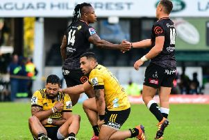 Matt Proctor's Super Rugby season appears to be over after he suffered a pectoral injury against the Sharks