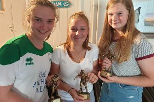 There were awards galore handed out to senior and junior players as Chichester City Ladies FC celebrated a successful season