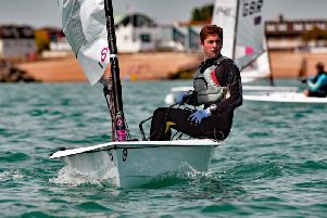 Close racing at Felpham Sailing Club / Picture by Chris Hatton
