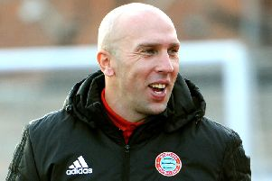 Worthing manager Adam Hinshelwood. Picture by Steve Robards.