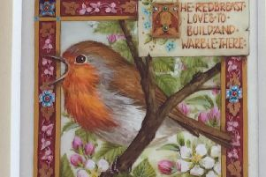 Limners 2019 The Redbreast by Debby Faulkner-Stevens