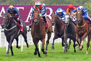 Action from Tuesday's Lennox Stakes / Picture by Malcolm Wells