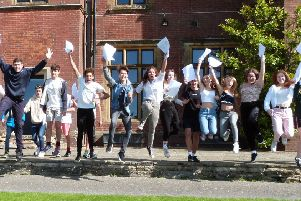 Ditcham Park School celebrated very good GCSE results