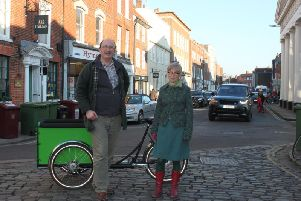 Campaigner Mark Record's car free day idea has been supported by city councillor Sarah Sharp