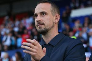 Mark Sampson has taken temporary charge of Stevenage following Dino Maamria's sacking.