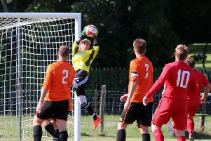Action from East Dean v Capel / Picture: Roger Smith