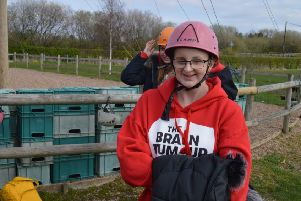 Izzy wants to help support other young people. Izzy Colville. The Brain Tumour Charity