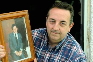 Richard is raising money in memory of his brother, Clive, who died from stomach cancer on October 23, 1984. Photo: Kate Shemilt ks180542-1