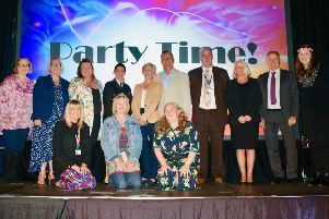 County councillors and senior WSCC staff who helped hand out the Exceptional People in Care awards for West Sussex
