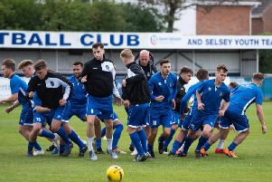 Selsey's players have earned praise from boss Daren Pearce despite a couple of indifferent results / Picture by Chris Hatton