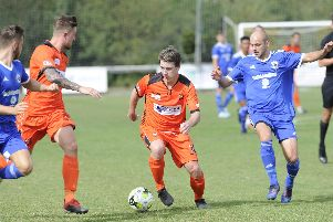 AFC Portchester will check on Mike Turvey's fitness. Picture: Ian Hargreaves  (070919-6)