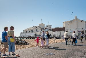 Having 'suffered the indignity' of coming bottom in a poll of 100 seaside resorts, Bognor was given a chance to show what it is really like, on the big screen. Photo courtesy of Goble Photography