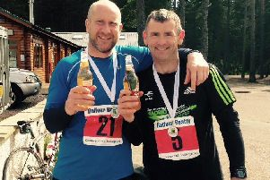 Scott Cummings and Paul Beaumont will take on the challenge in August