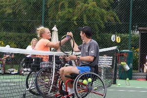 Riverside Tennis Club's disability fun day
