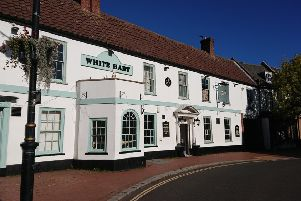 The historic White Hart in Spilsby in undergoing refurbishment, and is set to open on November 1.