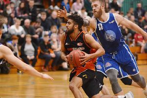 Hemel Storm's Blayne Freckleton had a 70-point weekend which earned him National League Division One Player of the Week honours. (Photo: Lin Titmuss).
