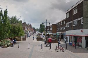 Church Walk in Burgess Hill. Picture: Google Street View