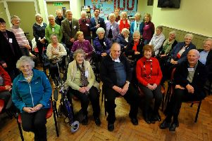 Members of Sapphire Stroke Club in Burgess Hill. Photo by Steve Robards
